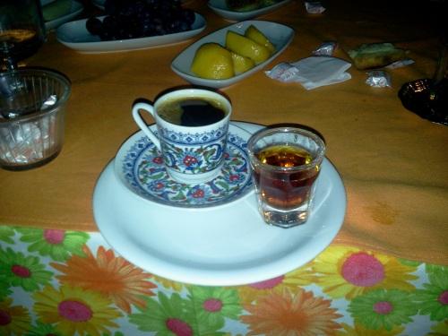 kahve ve likör