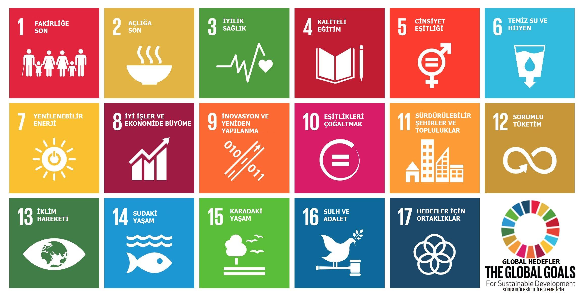 Global goals - Küresel hedefler